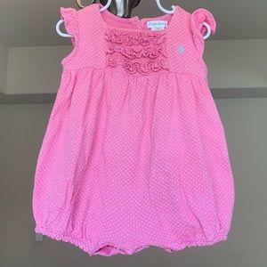 Ralph Lauren Baby Cotton Romper